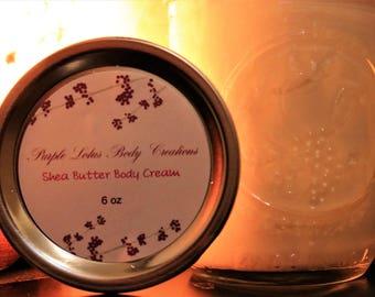 Shea Butter Body Cream (4oz)