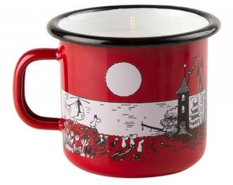 Moomin Enamel CANDLE NIGHT IN Moominvalley 2,5DL