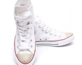 Converse Crystal Gold and Silver