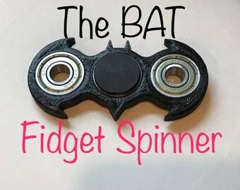 Batman Style Fidget Spinner - Revolutionary 3D Future!
