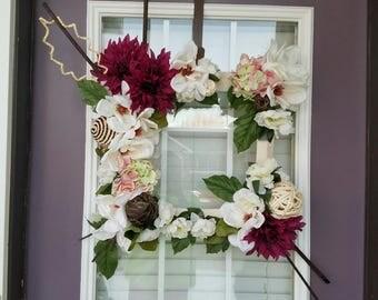 Purple Explosion Wreath