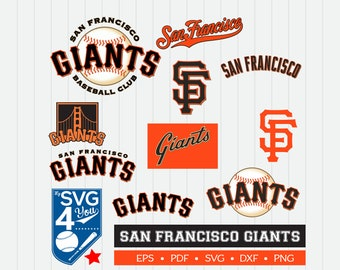San Francisco Giants Cut Files, SVG Files, Baseball Clipart, Cricut Giants Cutting Files, Baseball DXF, Clipart, Instant Download