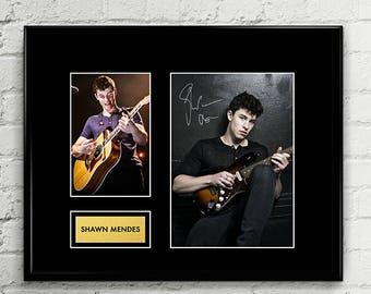 Shawn Mendes - Autograph - Signed Poster Art Print Artwork - Grammy Billboard