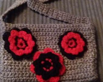 Flower Zip Bag