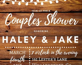Outdoor Couples Shower/Wedding/Bridal