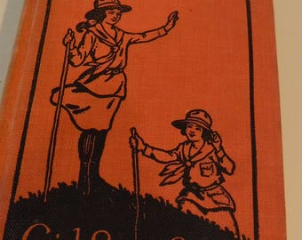 The Girl Scouts' Rally, Girl Scout Series Vol. 2, 1921 hardback, by Galt