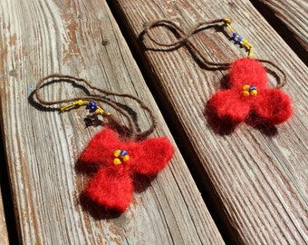 Needle Felted Bookmark