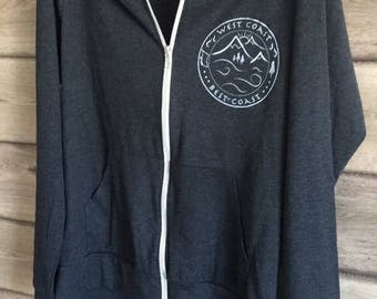 West Coast, Best Coast Full Zip Hoodie. Ocean Edition.