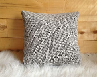 Modern Black and White Geometric Pillow Cover