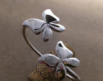 Butterflies Bracelet Stearling Silver