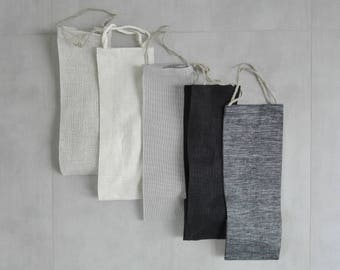 Set of 5 wine bags