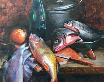 Stilllife with fish