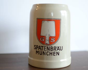 Spatenbräu München Beer Stein