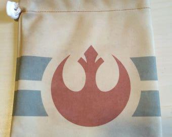 Rebel Print Dice Bag