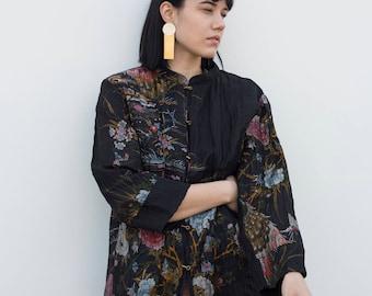 Vintage Floral Kimono Top