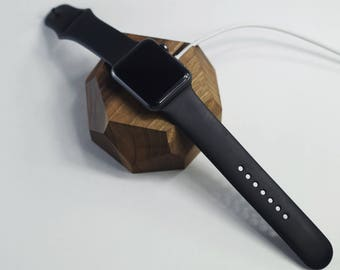 iWatch Docking Station,Apple Watch Gadget,Apple Watch Accessories,iWatch Accessories,Apple Watch,Apple Wooden Docking Station,Gift for Him
