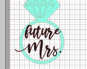 Future Mrs Ring Decal