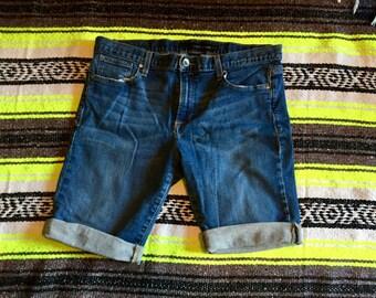 Calvin Klein Cuffed Boyfriend Shorts Size 31/12
