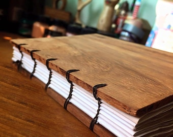 Handmade Wooden Journals