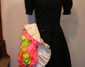 Women's Can Can Costume Dress
