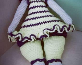 Knitted doll Tilda
