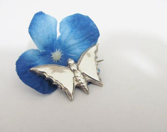 Vintage Sterling Silver Butterfly Brooch Pin, Sterling brooch, mom Gift