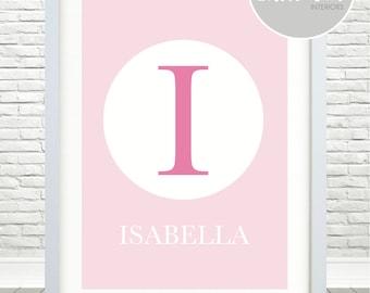 Girls Initial / Name Print