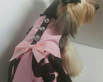 Handmade dog dress size M