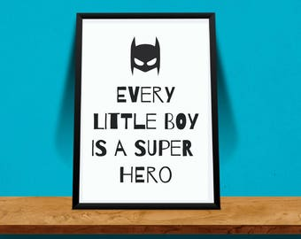 Poster/Pictures for kids room  LITTLE BOY