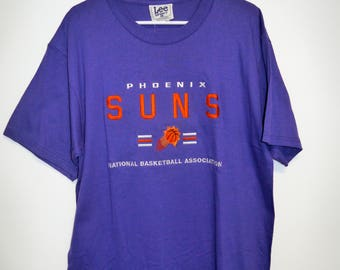 Vintage 90s Phoenix Suns T-Shirt by Lee Sports Men's Large