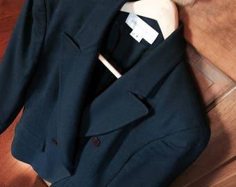 Jones New York Blue Suit (jacket & Skirt) Size 8