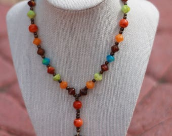 Anglican Prayer Beads + Multicolor/Natural