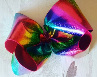 High Quality Holographic Rainbow Bow! 7'' Monster!