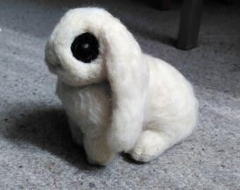 Poseable Hotot Bunny Plushie