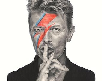 Bowie, Print