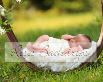 Digital background, scenery, newborn babies, boys, girls, 2 files!