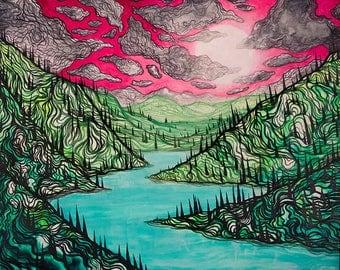 """Lucas Allen Cook """"Dreams of Agartha"""""""
