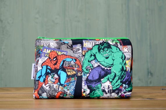 Spiderman and Hulk Large bag