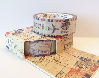 Washi tape, masking tape, planner tape, mt, postal tape - Arrival
