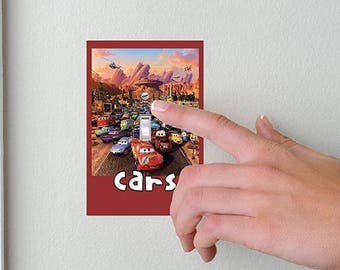 Cars- Lightswitch Cover- Mcqueen