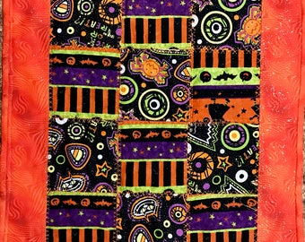 Halloween Quilted Placemat