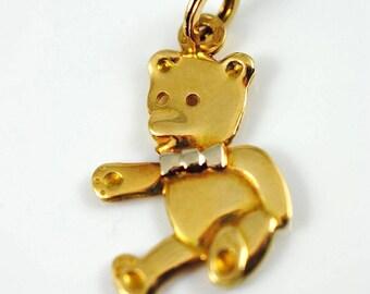 Teddy Bear Bracelet Charm