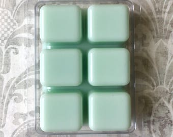 Pear Berry Wax Melt Tarts Breakaway Clamshell Soy Scented Cubes Fruity Signature Scent Candle Handmade