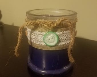 10 oz. Lavender soy wax candle