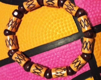 Handmade African Lion Bracelet