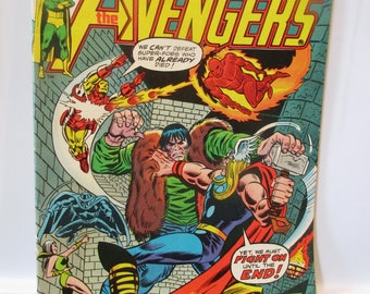The Avengers #132 (Storyline Continues in Giant Size Avengers #3) Marvel Comics 1974