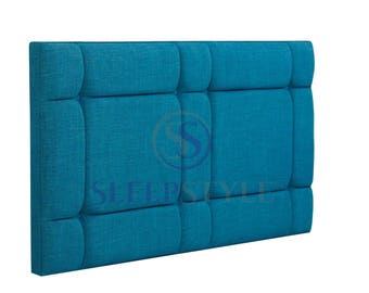4FT6 Double Oasis Upholstered Headboard - Choose Any Fabric, Also Available In Various Heights