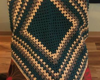 Never Ending Granny Square Baby Blanket