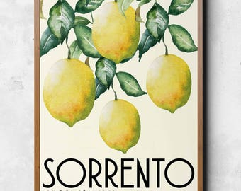 Sorrento - Limoni italiani