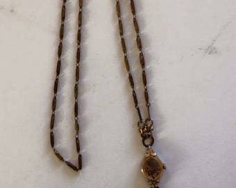 Handmade Steam Punk Watch Necklace